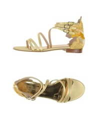 Ermanno Scervino Sandals Light Yellow