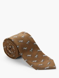 Tiger Of Sweden Trigon Silk Tie Natural