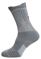 Nike Performance Elite Versatil Sports Socks Cool Grey White Black