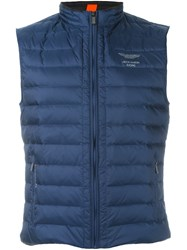 Hackett 'Aston Martin Racing' Down Gilet Blue