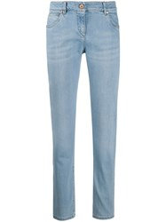 Brunello Cucinelli Denim Low Rise Jeans Blue