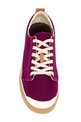 Reef Girls Walled Low Lace Up Sneaker Purple