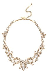 Women's Kate Spade New York 'Chantilly Gems' Faux Pearl And Crystal Collar Necklace