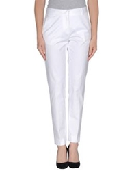 Valentino Roma Casual Pants White