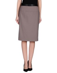 Ajay Skirts Knee Length Skirts Women Dove Grey