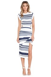 Maurie And Eve Infinite Cage Dress Navy