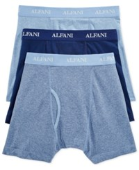 Alfani Men's Knit Stretch Boxer Briefs 3 Pack Only At Macy's