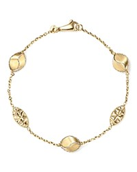 Bloomingdale's Pepita Beaded Bracelet In 14K White And Yellow Gold 100 Exclusive