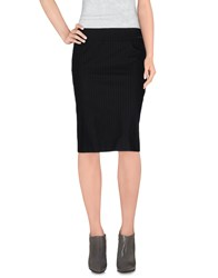 Exte Skirts Knee Length Skirts Women Black