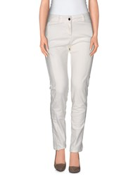 Liviana Conti Trousers Casual Trousers Women Ivory