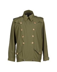 People Jackets Military Green