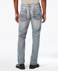 Inc International Concepts Slim Straight Jeans Created For Macy's Light Wash