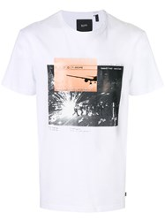 Blood Brother Escape T Shirt Cotton White