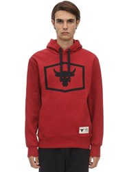 Under Armour Project Rock Warm Up Sweatshirt Hoodie Red