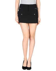 Trou Aux Biches Mini Skirts Black