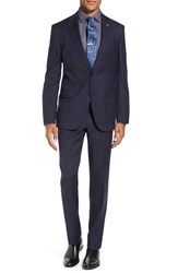 Ted Baker Men's London 'Jay' Trim Fit Solid Wool Suit
