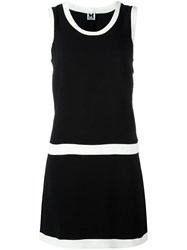 M Missoni Contrast Piping Dress Black