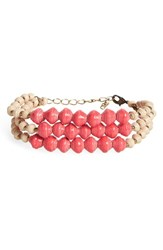 31 Bits Women's Shadow Ridge Paper Bead Bracelet Rose