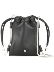 Alexander Wang Ryan Neck Pouch Black