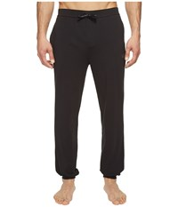 Hugo Boss Mix And Match Long Pants Cw Cuffs Black Men's Pajama