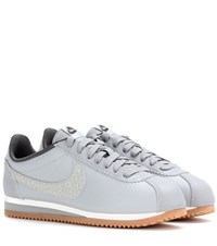 Nike Classic Cortez Leather Sneakers Grey