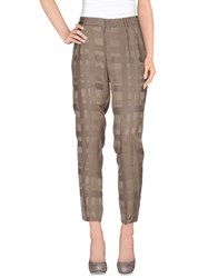 Pt01 Trousers Casual Trousers Women Dove Grey