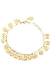 Elizabeth And James Gold Tone Bracelet Gold