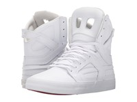 Supra Skytop Ii White White Red Women's Skate Shoes