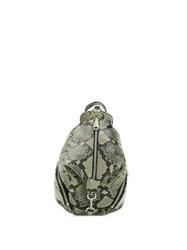 Rebecca Minkoff Julian Python Effect Backpack Green