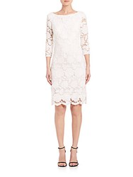 Sue Wong Lace Dress White