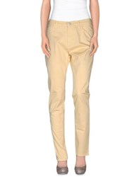 Trussardi Jeans Trousers Casual Trousers Women Light Yellow