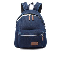 Eastpak Padded Pak'r Kuroki Denim Limited Edition Backpack Indigo Wash