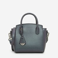 Charles And Keith Basic Structured Handbag Peack