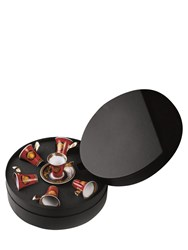Versace Medusa Red Set 6 Espresso Cups