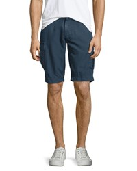Ag Jeans Sulfur Bunker Cargo Shorts Sulf Sweater Blue