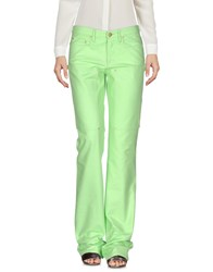 Versace Jeans Couture Casual Pants Light Green