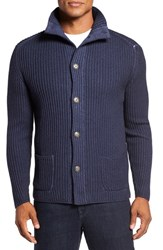 Lanai Collection Men's Garment Dyed Cable Knit Cardigan