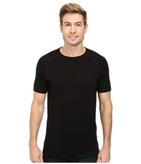 Fj Llr Ven Abisko Trail T Shirt Black Men's T Shirt