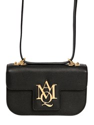 Alexander Mcqueen Insignia Cross Body Leather Satchel