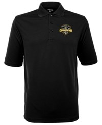 Antigua Men's Pittsburgh Penguins Champ Polo Shirt Black