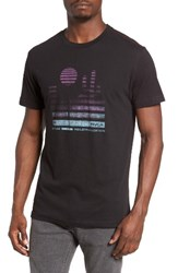 Rvca Men's Desert Sunrise Graphic T Shirt