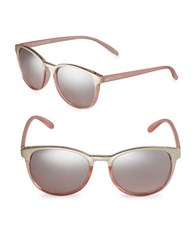Sam Edelman 51Mm Round Sunglasses Pink