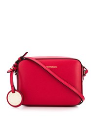 Emporio Armani Logo Cross Body Bag Red