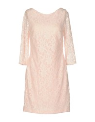 Musani Couture Short Dresses Light Pink