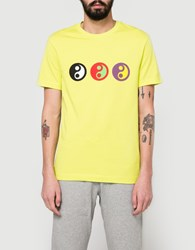 Gosha Rubchinskiy Yin Yang T Shirt In Yellow