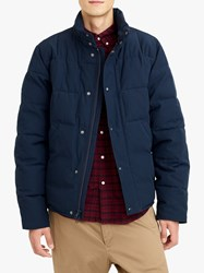 J.Crew Nordic Box Quilted Jacket Navy