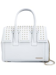 Thomas Wylde Small Studded Tote White