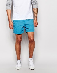 Esprit Washed Neon Chino Short Shorts Neonblue
