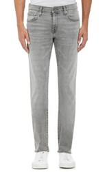 J Brand Men's Kane Slim Straight Leg Jeans Light Grey