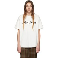 Marc Jacobs Off White The Logo T Shirt